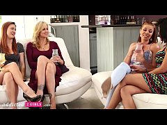 First Time Lesbian Swingers Swap Girlfriends, P...