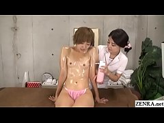 Japanese massage clinic special lesbian course ...