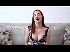 CASTINGCOUCH-X Newcomer April Snow fingered and...