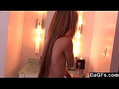 Laney puts on a hot webcam show