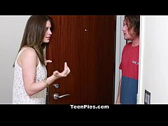 TeenPies - Teen Gets Creampied By Her Mom's BF