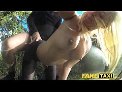 Fake Taxi Bisexual blondes hot revenge fuck on ...
