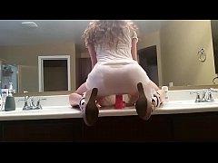 Dirty Talking Girl Bathroom Dildo | WWW.LUSTSLU...