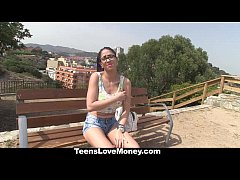TeensLoveMoney - Hot Latina Gets Fucked Outdoors