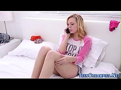 Teen blondie creampied