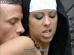 Real nun fuck in Church Area