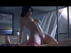 Lara croft rides a big dick look at it full in ...