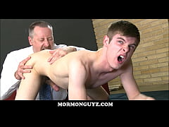 Blonde Mormon Twink Ass Licked And Fucked By Ol...
