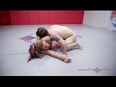 Tori Avano nude wrestling against a guy winner ...