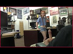 XXX PAWN - Redhead Teen Dolly Little Tries To P...