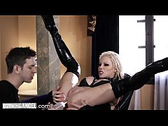 BurningAngel Barbie Sins Oiled & Squirting from ANAL HAMMERING!