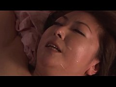 Son visit Japanese mommy at night to fuck her p...