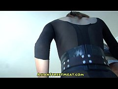 Rising Business Executive In See Through Body S...