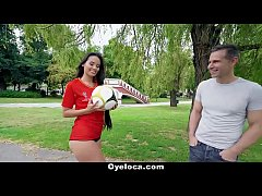 TeamSkeet - Horny Latina Fucking during World Cup
