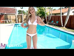 Real Teens - Tattooed Teen Kali roses POV blowj...