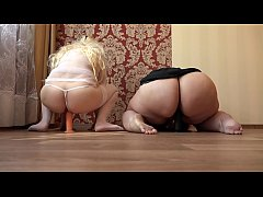 Milf in early pregnancy and her fat mature girl...
