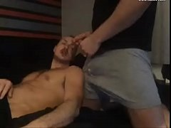 Fit guys have sex on cam while wife and girlfri...