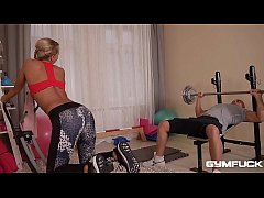 Gym fuck leads to absolutely intense DP anal ga...