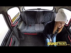 Fake Taxi Czech beauty with nice shaved tight p...