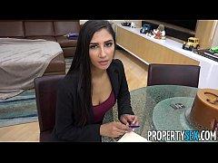PropertySex - Hot real estate agent cheats on b...