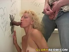 Heather Milf Visits Gloryhole With Her Cuckold Husband