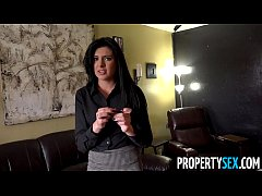 PropertySex - Pretty real estate agent with sou...