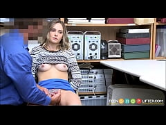 Young Small Tits Teen Shoplifter Cavity Search ...