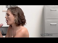 Ass fucking busty milf after strip search