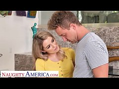 Naughty America - Teen Abby Adams fucks the lan...