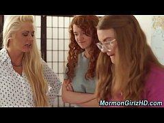 Mormon milf fingers teens