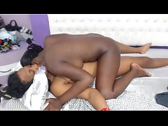 Ebony Lesbians licking and playing with toys HD:|xxblacks.com