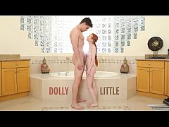 ABUSE ME - Redhead Teen Dolly Little Gets Ravag...