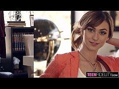 TEENFIDELITY Cute Schoolgirl Ana Rose Tutored i...
