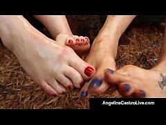 Full Figured Angelina Castro & Virgo Peridot Fo...