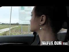 Mofos - Stranded Teens - Lea Guerlin - Horny French Amateur Car Sex