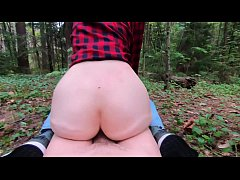 Public sex and Blowjob teen in forest- extreme ...