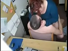 Me and my boss fucking at work