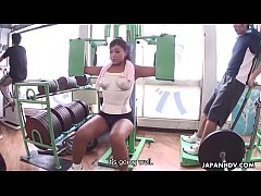 Fucking a babe in the gym