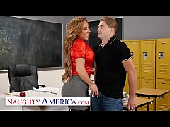 Naughty America - Richelle Ryan Fucks her colle...