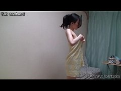 Shower Time for Japanese Busty Teen