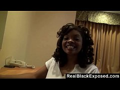 RealBlackExposed - Ebony Dee Rida Can't Keep Her Hands Away