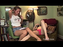 Nasty Yanks Lesbians  Kandie and Camille