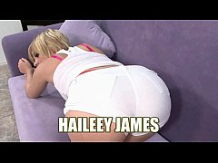 Cute coed Haileey James takes some dick in her ...