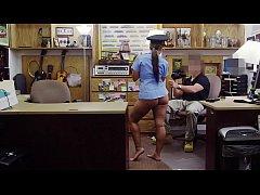 XXX PAWN - Juicy Latin Police Officer No Speaky...