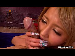 Japanese slut, Yuri Kurosaki got fucked by two ...