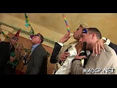 Hot party full of hung ripped studs and goluptious hotties