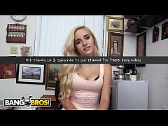 BANGBROS - Petite Blonde Naomi Woods Casting Vi...