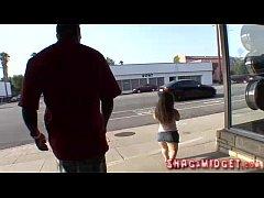 Midget Babes With Huge Black Guy