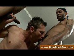 Black Gay Sex Fucking- BlacksOnBoys - video14