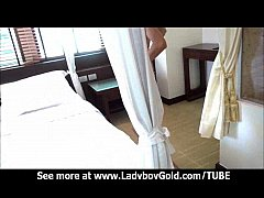 Quickie Handjob With Ladyboy Teen
